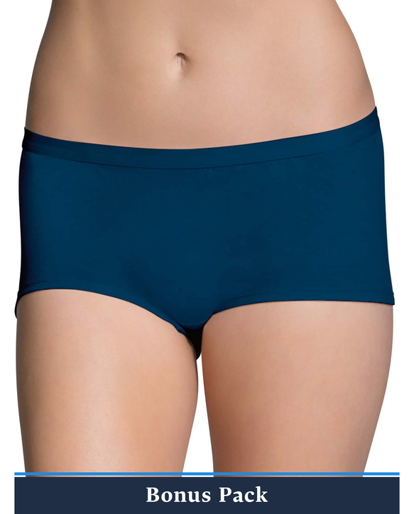 Women's Assorted Beyondsoft Boy Short Panty, 8 Pack ASSORTED