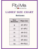 Women's Plus Size Fit for Me® by Fruit of the Loom® White Cotton Brief Panty, 6 Pack White