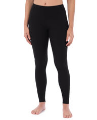 Women's Thermal Crew Bottom, 1 Pack Black