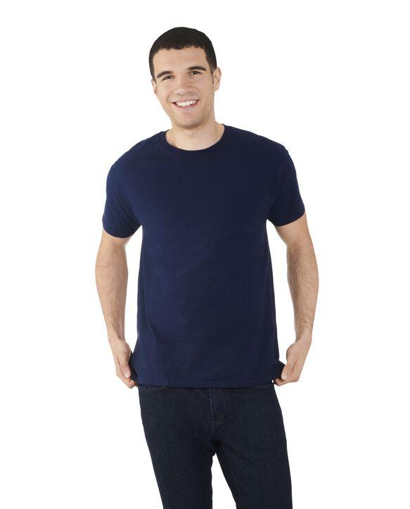 Big Men's Dual Defense® Crew Neck T-Shirt, 1 Pack J Navy