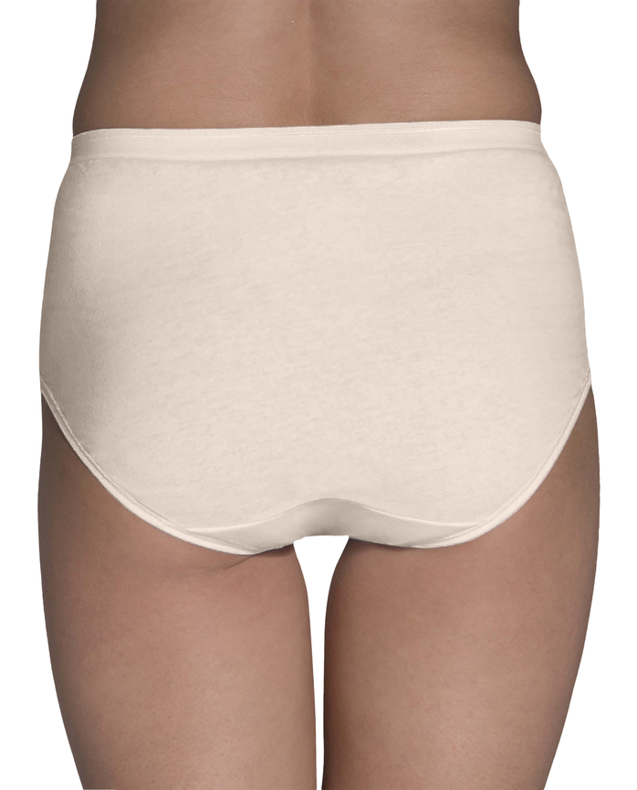 Women's Assorted Cotton Brief Panty, 8 Pack