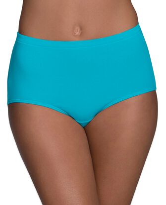 Women's Breathable Cotton-Mesh Brief Underwear, 8 Pack