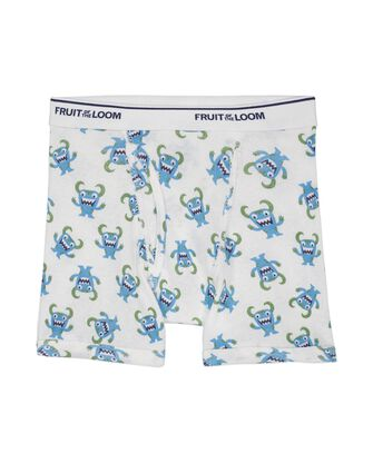 Toddler Boys' EverSoft Assorted Print Boxer Briefs, 10 Pack