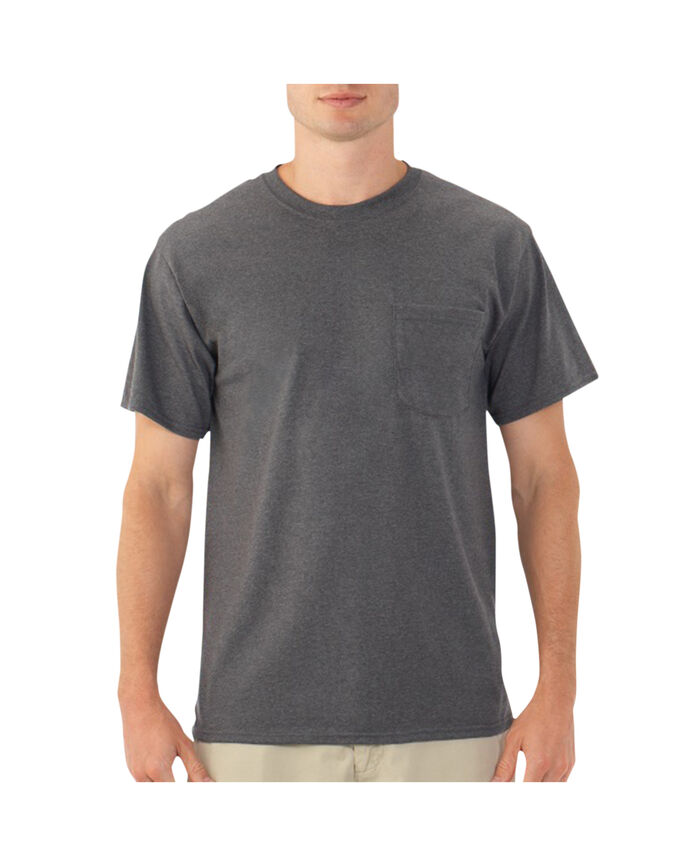 Big Men's EverSoft Pocket T-Shirt, Available in Extended Sizes