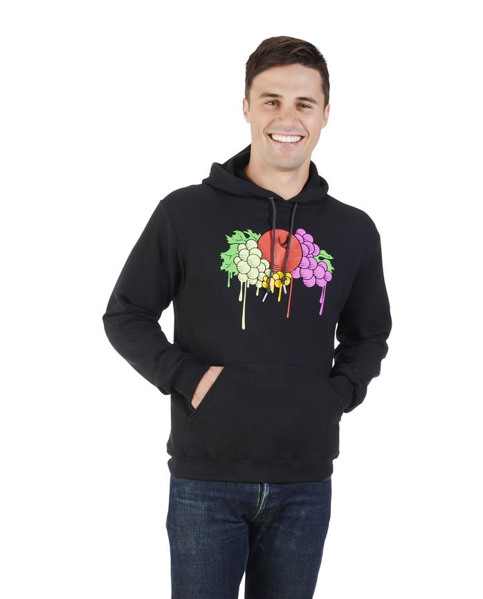 Men's Limited Edition Printed Logo Hoodie, 1 Pack