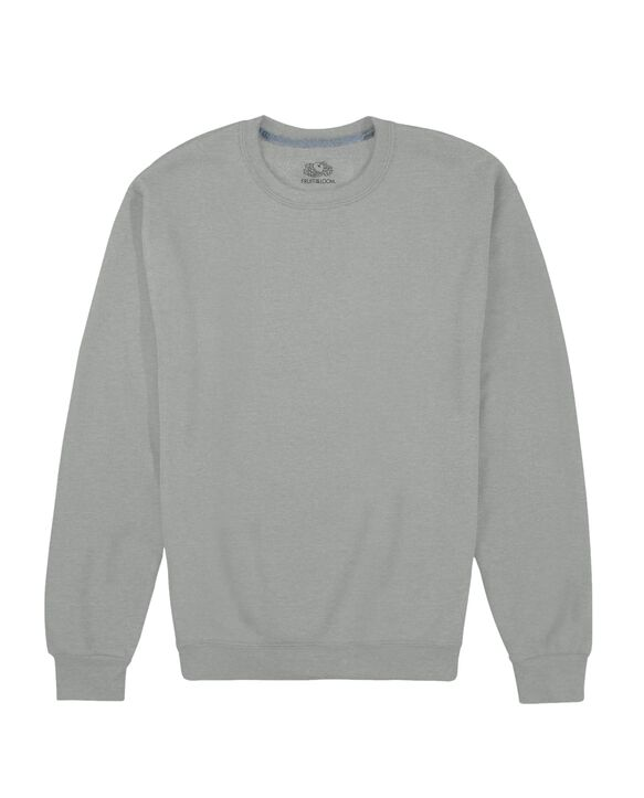 EverSoft Fleece Crew Sweatshirt, 1 Pack Grey Heather