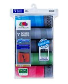 Boys' EverSoft CoolZone Stripe Boxer Brief, 7 Pack