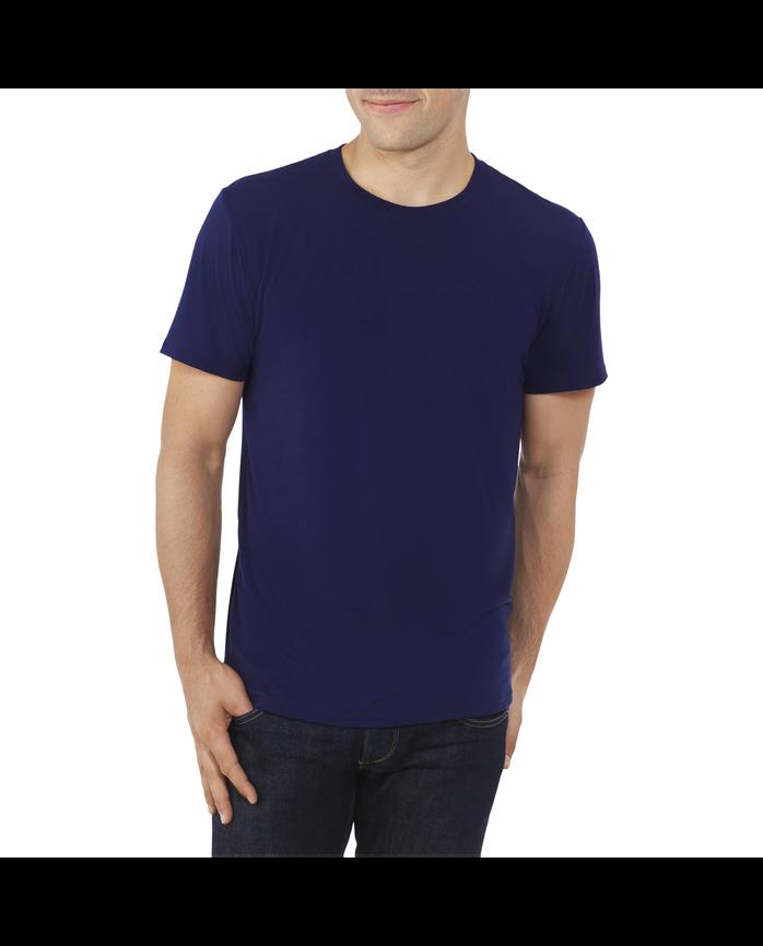 Big Men's EverLight™ Crew Neck T-Shirt, 1 Pack J.NAVY / CHARCOAL HE