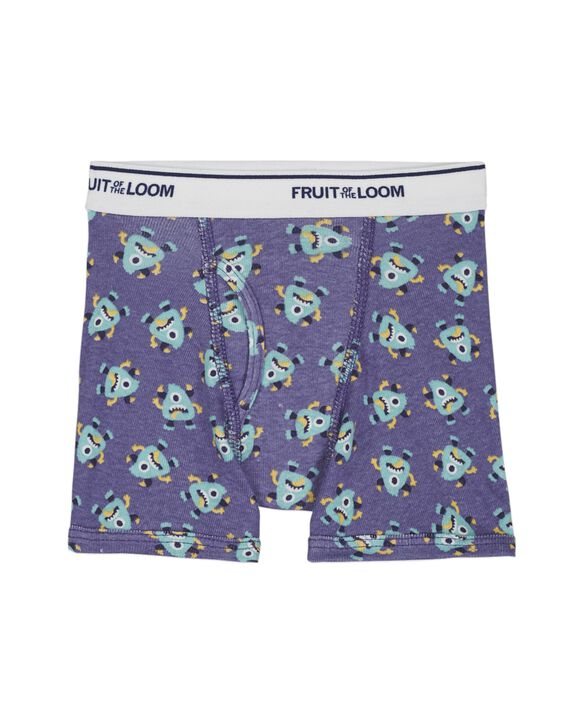 Toddler Boys' EverSoft Assorted Print Boxer Briefs, 10 Pack ASSORTED