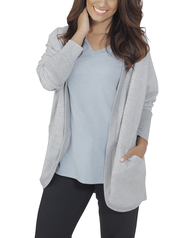 Women's Essentials Cocoon Wrap Cardigan, 1 Pack Athletic Heather