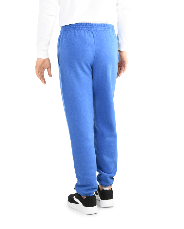 Men's EverSoft Fleece Elastic Bottom Sweatpants Blue Shadow Heather