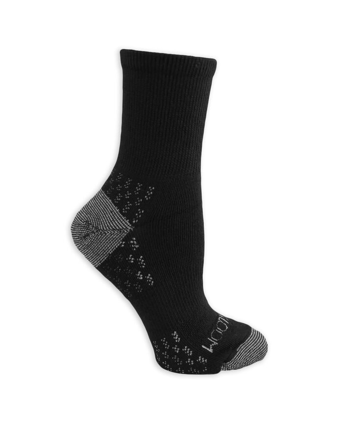 Women's On Her Feet Lightweight Boot Crew Socks, 3 Pack