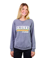 Limited Edition Retro Print Logo Crew Sweatshirt , 1 Pack