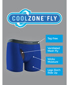 Boys' EverSoft Coolzone Print and Solid Boxer Brief, 7 Pack