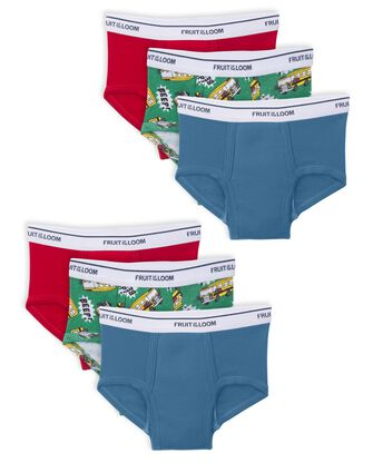 Toddler Boys' Training Pants, 6 pack
