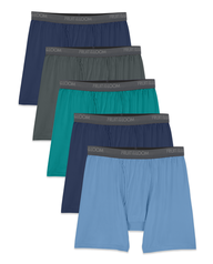 Men's Micro-Stretch Assorted Boxer Briefs, 5 Pack