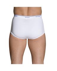 Men's Cotton White Briefs, Super Value 9 Pack White