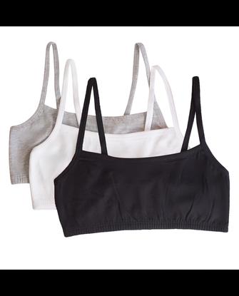 Women's Strappy Sports Bra, 3 Pack
