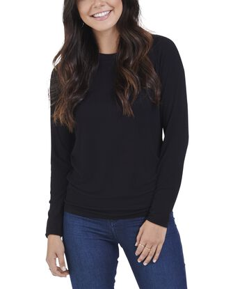 Women's Seek No Further Long Sleeve Ribbed T-Shirt