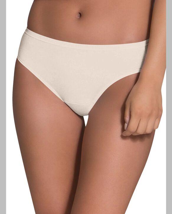 Women's Body Tone Cotton Bikini Panty, 10 Pack ASSORTED
