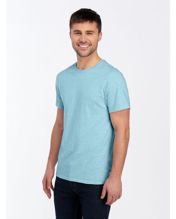 ICONIC Unisex T-Shirt Aqua Heather