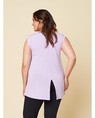 Women's Seek No Further Plus Size Scoop Neck Tank Top Lilac Petal