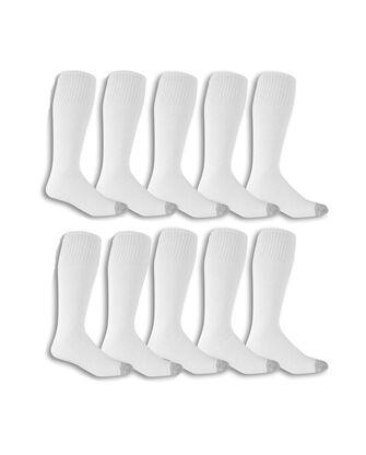 Men's Work Gear Tube Socks, 10 Pack, Size 6-12