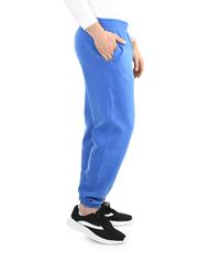 Big Men's EverSoft Fleece Elastic Bottom Sweatpants, 1 Pack Blue Shadow Heather