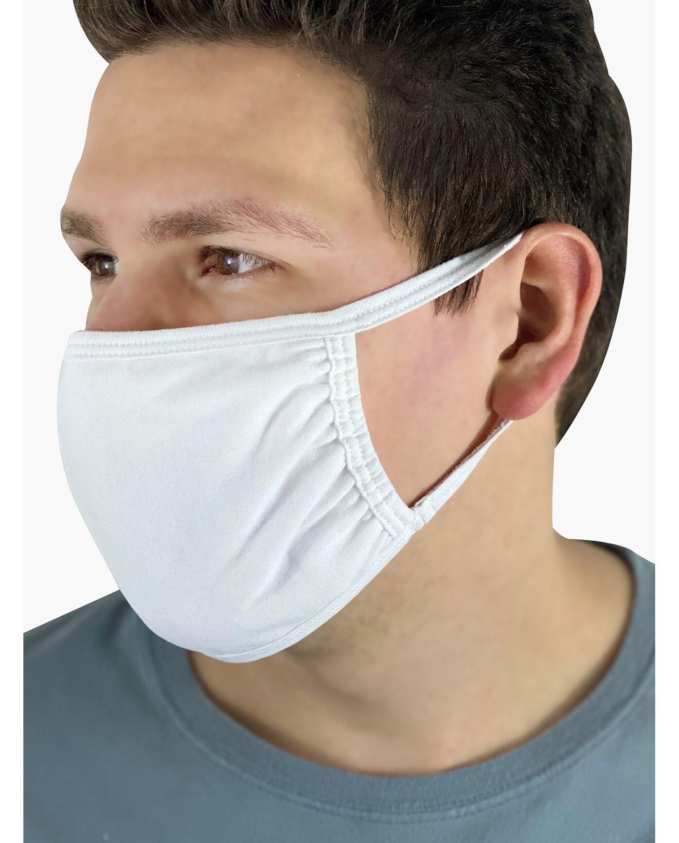 Reusable Cotton Face Mask Non-Medical, 5 Pack $1.25