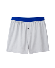 Men's 1 Pack Breathable Cooling Cotton Micro Mesh Knit Boxer Assorted