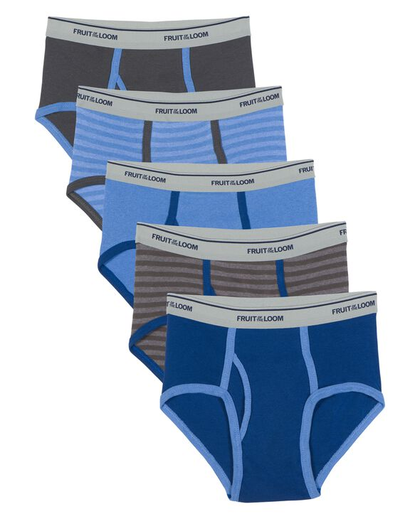 Boys' Assorted Fashion Brief, 5 pack