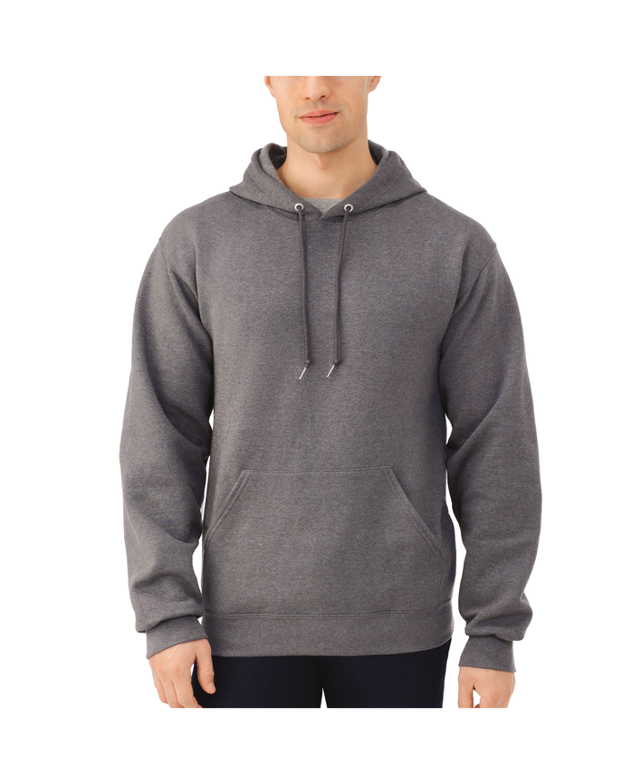Big Men's EverSoft Fleece Pullover Hoodie Sweatshirt, 1 Pack