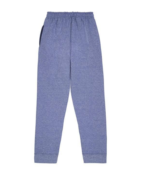Boys' Fleece Joggers, 1 Pack Blue Stripe
