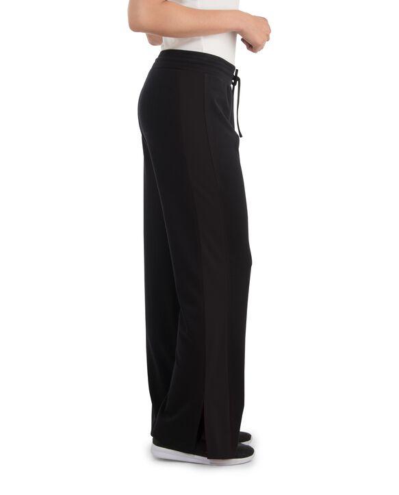 Women's Seek No Further Mid-Rise Track Pants Brilliant Black