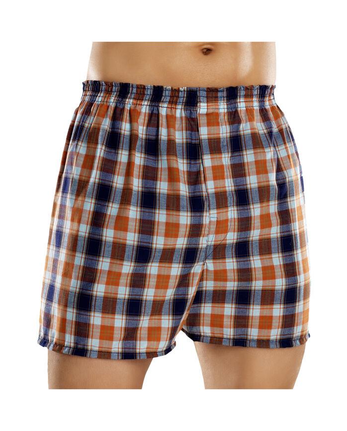 Men s 5 Pack Fashion Plaid Boxer - Fruit US e640b221461