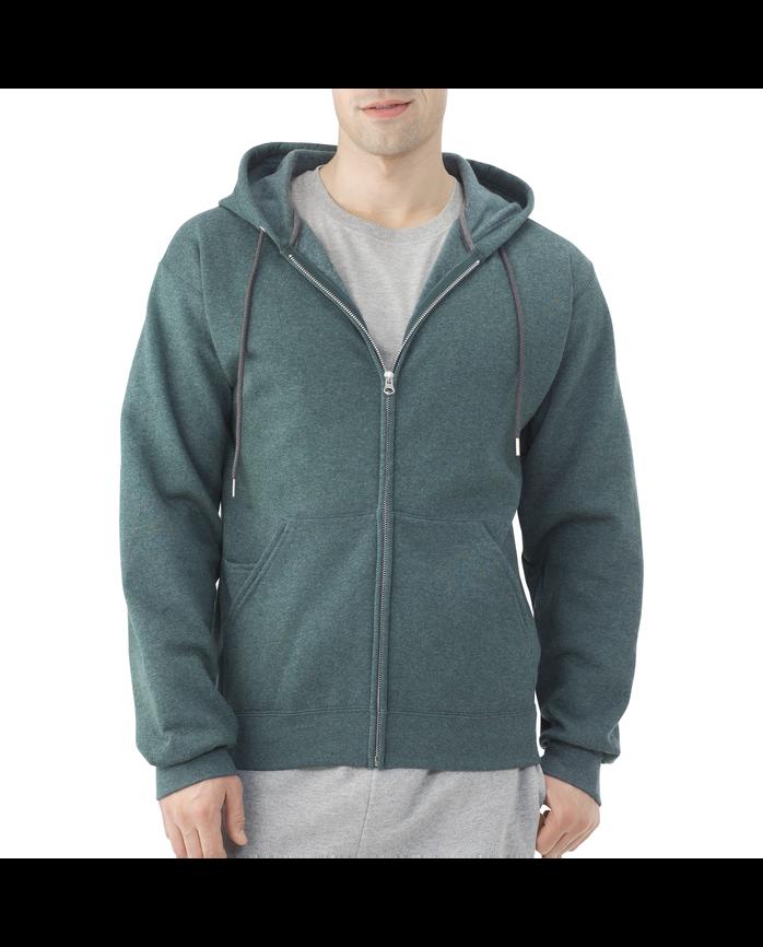Men's Dual Defense Fleece Full Zip Hooded Sweatshirt