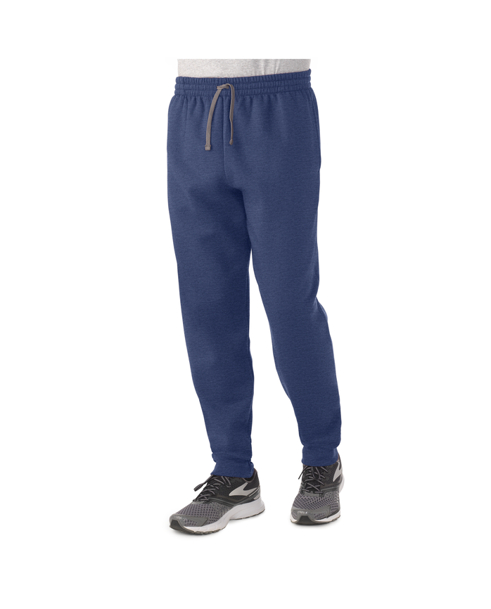 Men's Dual Defense EverSoft Jogger Sweatpants, 1 Pack, Extended Sizes Indigo Ink Heather