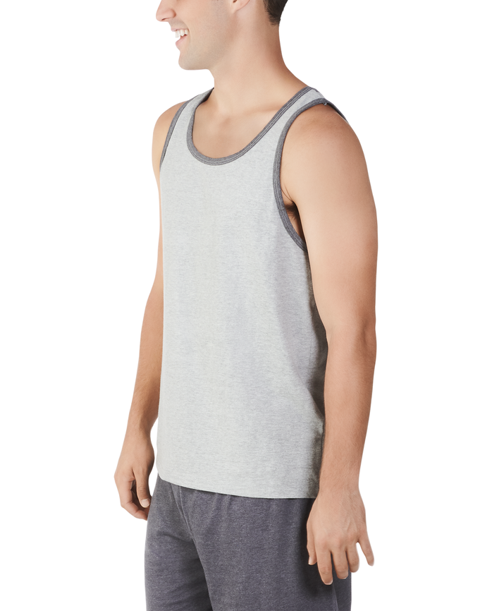 Big Men's Dual Defense UPF Sleeveless Tank Top