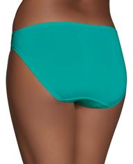 Women's Microfiber Bikini Panty, 6 Pack Assorted