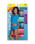 Women's Heather Brief Panty, 8 Pack ASSORTED