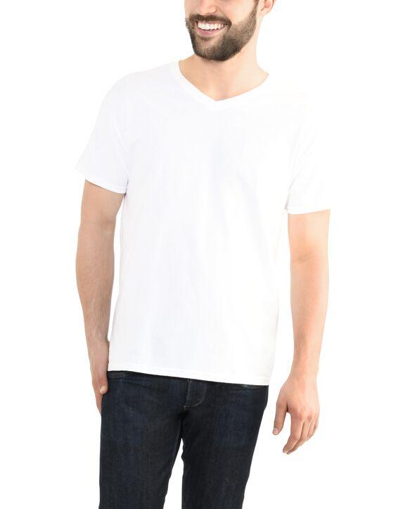 Big Men's EverSoft V-Neck T-shirt, 1 Pack White