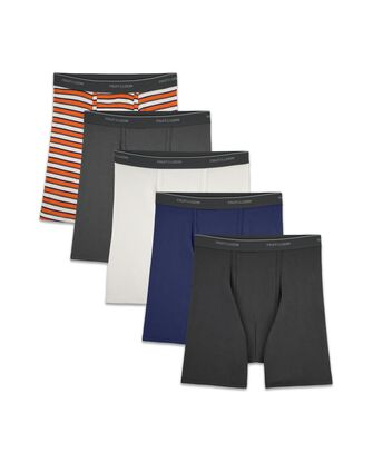 Men's Support Pouch Assorted Boxer Briefs, 5 Pack