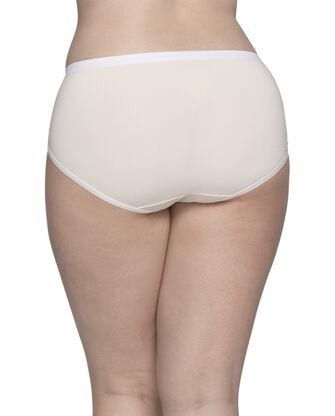 Women's Plus Size Fit for Me® by Fruit of the Loom® Microfiber Brief Panty, 6 Pack