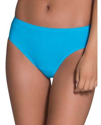 Women's Cotton Bikini Underwear, 12 Pack