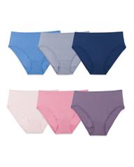 Women's Seamless Hi-Cut Panty, 6 Pack