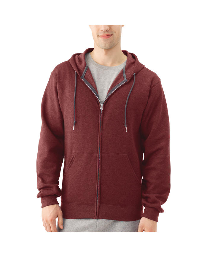 Men's Dual Defense EverSoft Fleece Full Zip Hooded Sweatshirt
