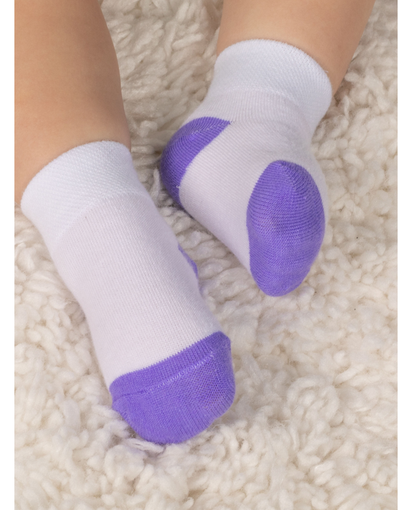 Baby and Toddler Kick Proof Socks, 10 Pack Multi