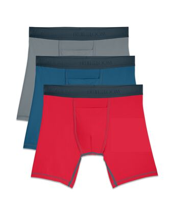 Men's EverLight Go Active Boxer Briefs, 3 Pack
