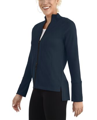 Women's Seek No Further Long Sleeve Full Zip Raglan Track Jacket