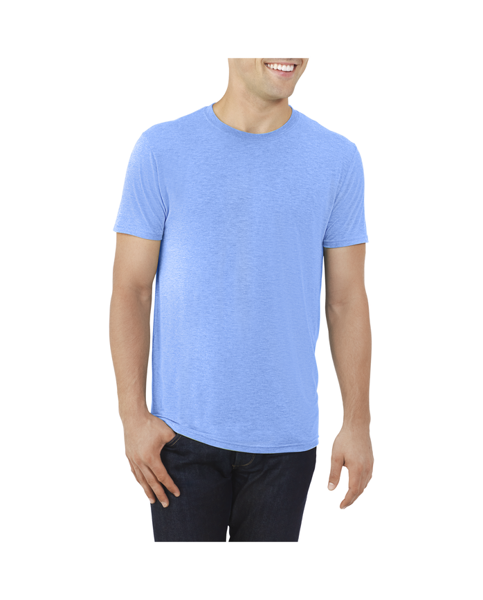 Big Men's EverLight™ Crew Neck T-Shirt, 1 Pack Royal Heather